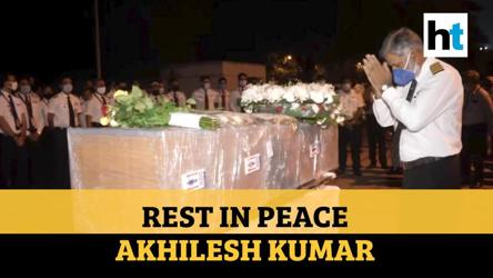 Kozhikode crash: AI Express employees pay tribute to fallen co-pilot Akhilesh Kumar