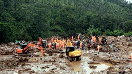 Rescuers recover 15 more bodies from Kerala landslide site, toll rises to 42