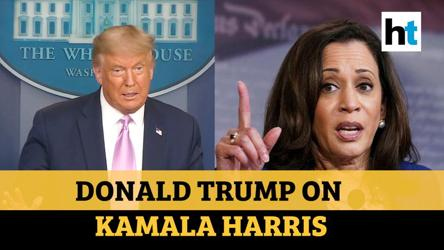 'I'm surprised': Donald Trump on Biden picking Kamala Harris for Vice President