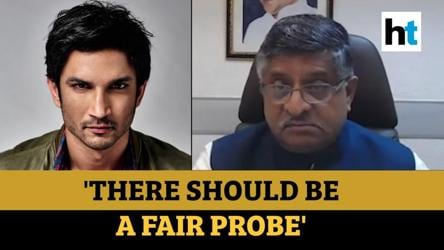 Watch: Ravi Shankar Prasad speaks on Sushant Rajput death probe