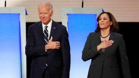 Joe Biden Picks Kamala Harris As His Running Mate World News Hindustan Times