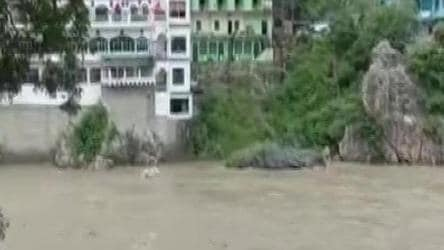 Flash floods, landslides and swelling rivers: Heavy rainfall batters Uttarakhand