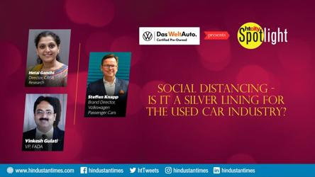 Social distancing - Is it a silver lining for the used car industry?