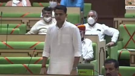 'Will be shield, club, spear for party': Sachin Pilot in Rajasthan assembly