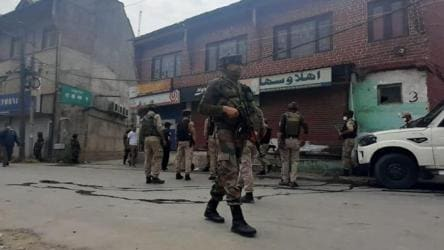 Terrorists attack police party in J-K's Nowgam, 2 killed