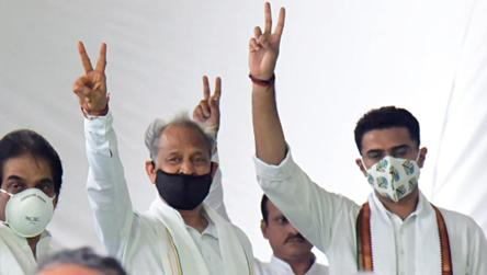 LIVE: Ashok Gehlot-led Rajasthan govt wins trust vote in assembly