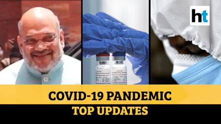 Covid update: Amit Shah tests negative; scientists decode virus symptoms' order