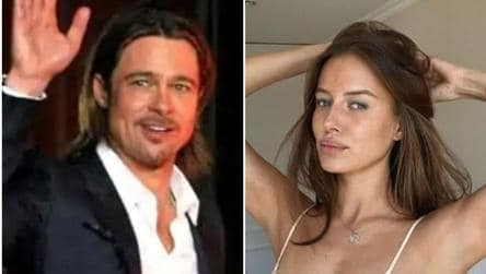 Brad Pitt S Girlfriend Nicole Poturalski Is Married But In An Open Relationship Report Hollywood Hindustan Times