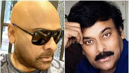 Chiranjeevi teases fans with new look, flaunts tonsured avatar, see pic -  regional movies - Hindustan Times