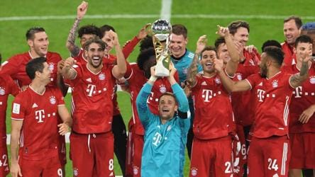 Bayern Munich beat Borussia Dortmund to win Super Cup and fifth title of  year - football - Hindustan Times