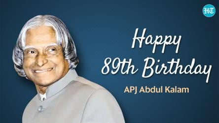 Apj Abdul Kalam 89th Birth Anniversary 10 Inspiring Quotes By The Missile Man Of India To Skyrocket Your Dreams More Lifestyle Hindustan Times