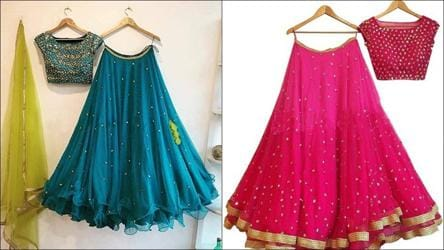 Ahead Of Festive Season Check Out These Vibrant Lehenga Choli Sets To Glam Up Your Ethnic Wear Fashion And Trends Hindustan Times