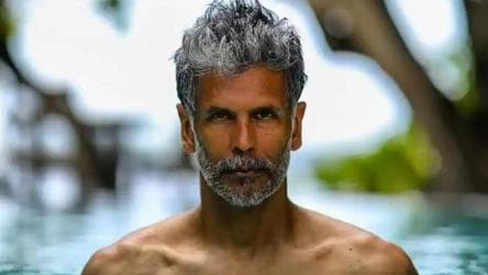 Milind Soman faces FIR, charged with obscenity for naked run on Goa beach -  india news - Hindustan Times