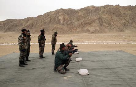 Indian army personnal testing DRDO JVPC