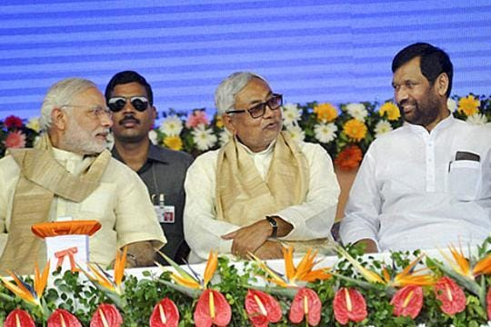 PM Modi, Nitish Kumar to launch Bihar campaign at joint rally. It's a first