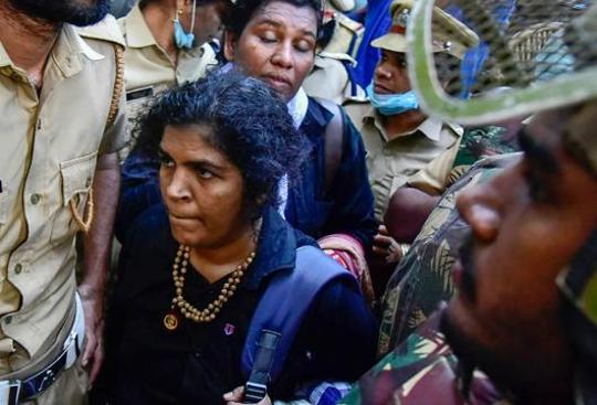 'Must atone for sins': Family of woman who made it to Sabarimala throws her out