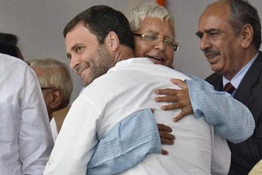 In Bihar grand alliance deal, a climb down for Congress and a Lalu imprint