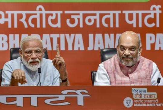 Four different scenarios predict victory for NDA; over to May 23
