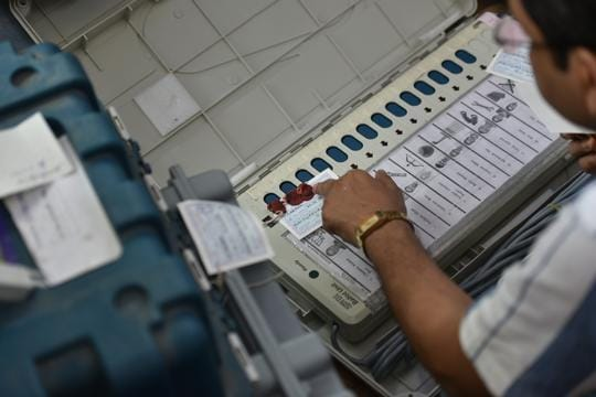 'Frivolous,' says EC on complaints of EVM replacement in UP