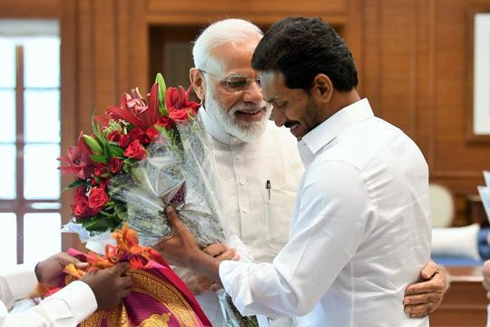 'Will remind PM Modi 40, 50 times': Jagan Reddy on special status for Andhra