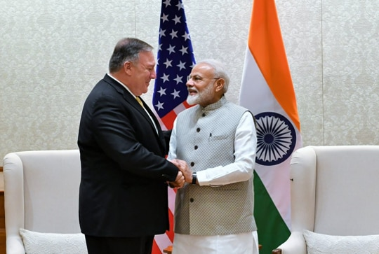 Pompeo's first stop on Delhi visit is PM, S-400 deal waiver on table