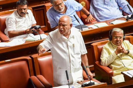 'Will be in house till midnight for trust vote': BS Yeddyurappa