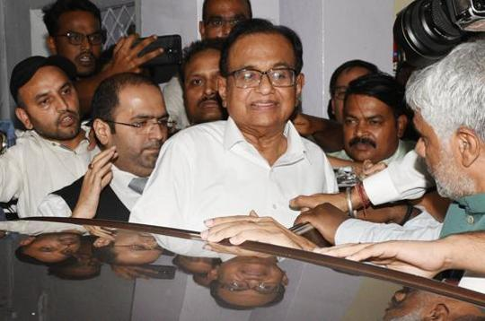 P Chidambaram to be produced in court shortly, after a night at CBI office