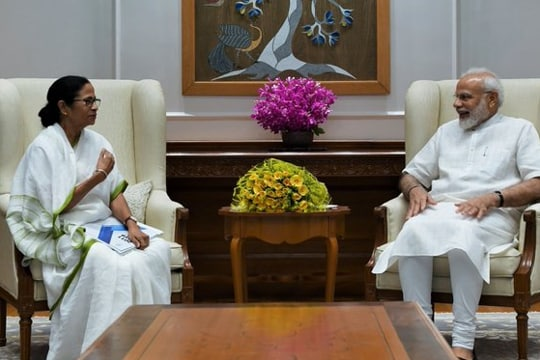 'Not politics': Mamata Banerjee meets PM Modi with an invite and a request