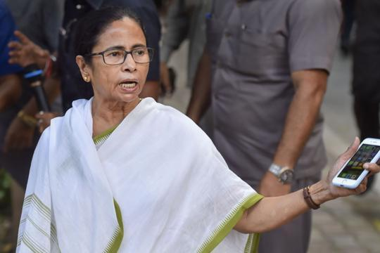 'Shame': Mamata Banerjee hits out at BJP for creating 'panic' over NRC