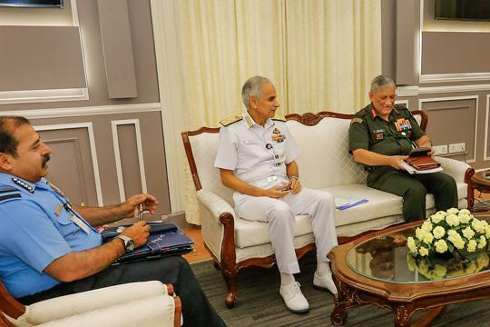 India's first Chief of Defence Staff will direct three service chiefs