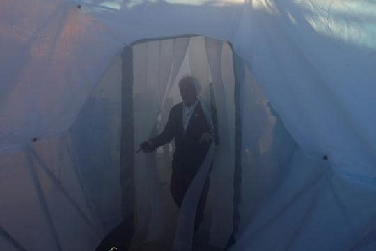 Pollution pods at UN Climate summit give visitors feel of Delhi smog