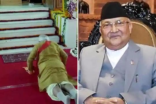 Cornered by rivals, PM Oli is back with a 'ludicrous' claim on Ram's birthplace