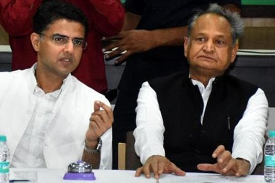 Boost for CMAshok Gehlot as Sachin Pilot mutiny all but over