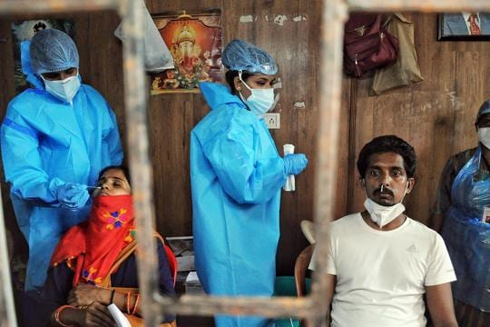 Covid-19:Active cases in Maharashtra drop by 127,000 in over a month