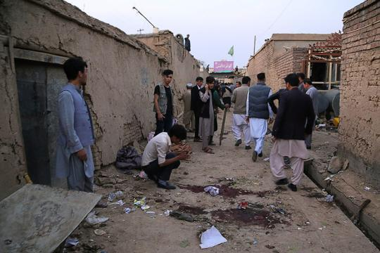 IS group claims responsibility for deadly Afghan suicide attack that killed 18 people