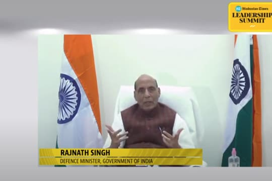 India making all effort to resolve border issue with China: Rajnath Singh