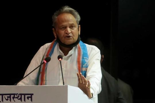 'BJP out again to topple my govt,' alleges Rajasthan chief minister Ashok Gehlot