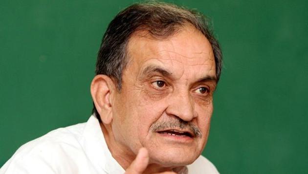 Former Union minister Birender Singh