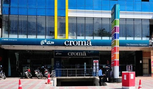 Croma is shutting down small stores and focusing on larger ones of over 10,000 square feet so it can sell a wider portfolio of products and offer better after-sales service.(Mint File)