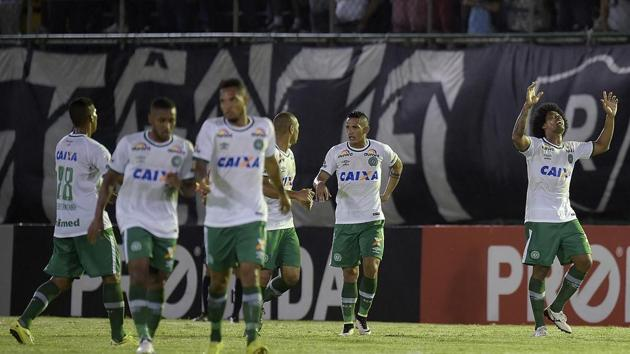 The plane was carrying members of Associação Chapecoense de Futebol, commonly known as Chapecoense or ACF.(Getty Images)