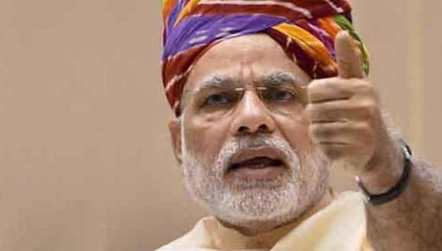 Prime Minister Narendra Modi thanked voters were keeping their faith in the BJP and his government on Twitter.(PTI File Photo)