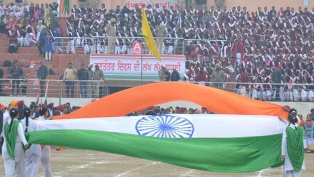 """Standing for the national anthem is a """"sign"""" of respect. But more importantly, it is the mark of a relationship. The anthem starts with """"jana"""", the people. And it talks of the jana's mana, that is, the people's minds. It does not talk of the nation-State, the government, its laws and rules (Representative Photo)"""
