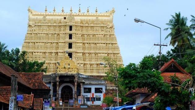 The Padmanabhaswamy temple in Thiruvananthapuram(HT File Photo)