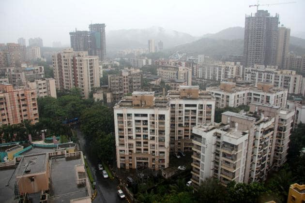 The state government has promised to create 11 lakh low-cost tenements in various MMR areas, including Virar, Kalyan and Thane.(Praful Gangurde)