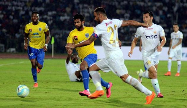Kochi's Jawaharlal Nehru Stadium was the first stadium to get ratified by a high-level FIFA delegation in October.(PTI)