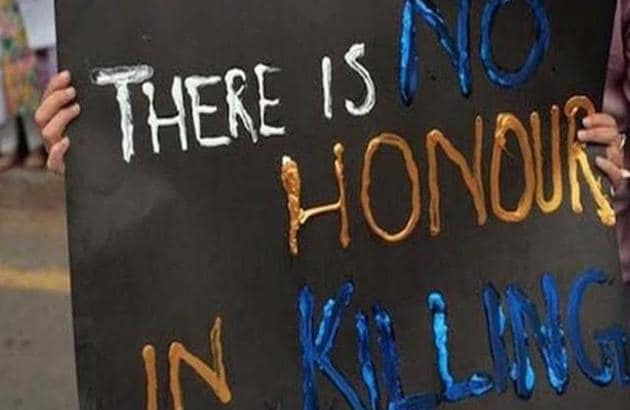 Most cases of honour killing went unreported in the past or registered as crimes under murder.(HT File)