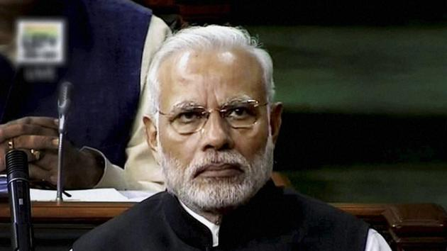 Last month, the Union Cabinet, chaired by Prime Minister Narendra Modi, had approved the proposal of National Commission of Backward Classes to make changes in the OBC list.(PTI file)