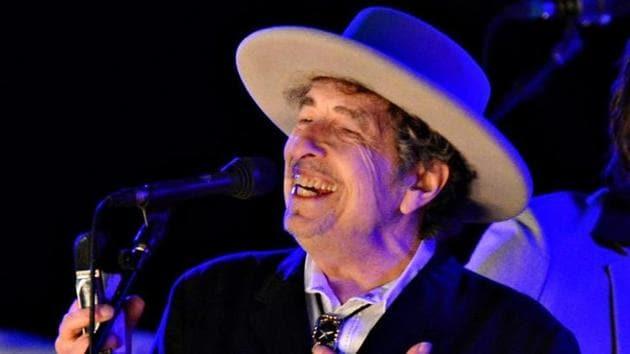 American folk singer Bob Dylan performing at The Hop Festival in Paddock Wood, Kent, in June 2012.(Reuters Photo)