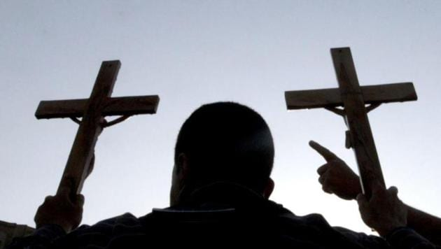 Members of a right-wing Hindu group attacked a Christian function in Sriganganagar on December 18. A similar incident was reported from the district on November 22. Christians were also attacked in Banswara last week.(File photo/representational photo)