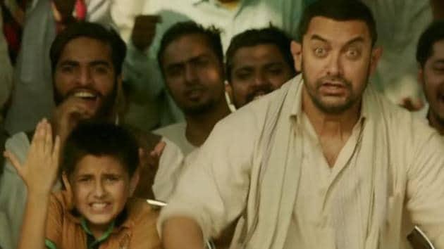 A still from the Aamir Khan-starrer 'Dangal'.